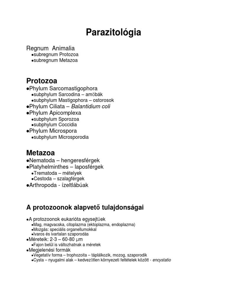 meghatározza a helminták hatását condyloma papilloma kezelés be