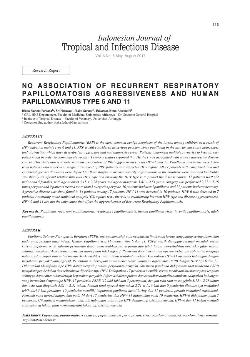 papilloma vs neoplazma