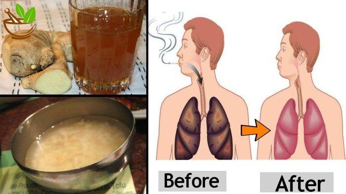 tüdő méregtelenítő recept